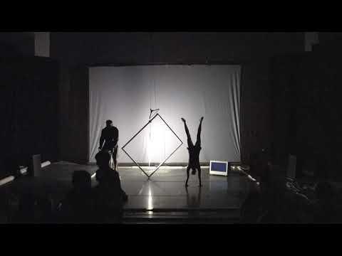 Cirkusföreställningen TVÅ, en del av Subtopiadagen