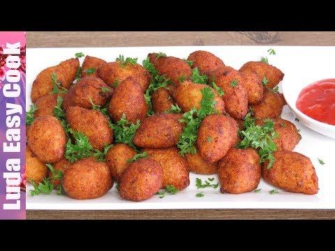 КАРТОФЕЛЬНЫЕ МАЛЮТКИ или МИНИ КРОКЕТЫ Очень вкусный гарнир из картошки | POTATO CROQUETTES