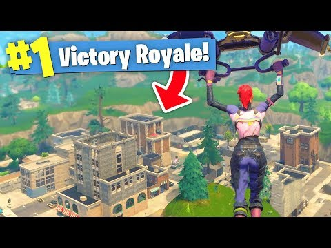 The BIGGEST UPDATE Ever! - NEW MAP Gameplay (Fortnite Battle Royale)