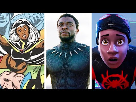 The Historic Rise Of Black Superheroes In 6 Minutes
