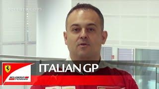 The Italian GP with Diego Ioverno – Scuderia Ferrari 2016