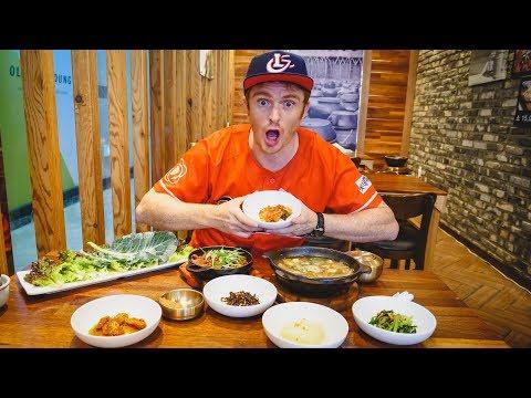 Full Korean Breakfast + World's Biggest Deparment Store in Busan, Korea