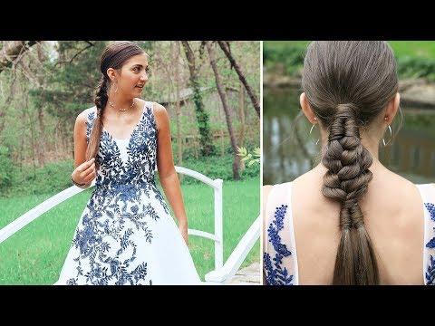 Infinity Braid Combo | Kamri's PROM Hair 2019