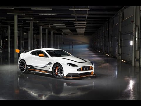 Aston Martin Vantage GT3 - exclusive first look video