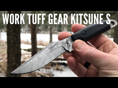 Work Tuff Gear Kitsune S: Compact Fixed Blade for EDC