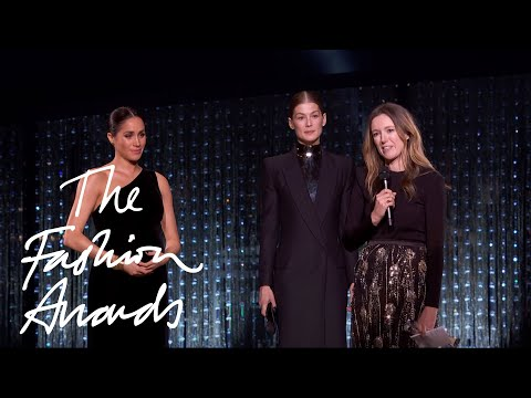 Clare Waight Keller for Givenchy   British Designer of the Year Womenswear Award