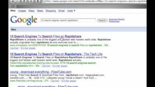 How to Search For Any File On Rapidshare(Really Easy) - YouTube