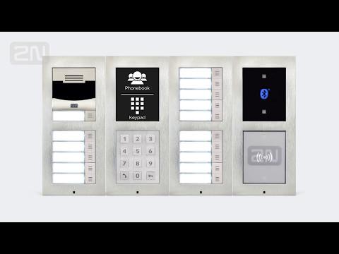 2N Helios IP Verso - en modern och flexibel porttelefon