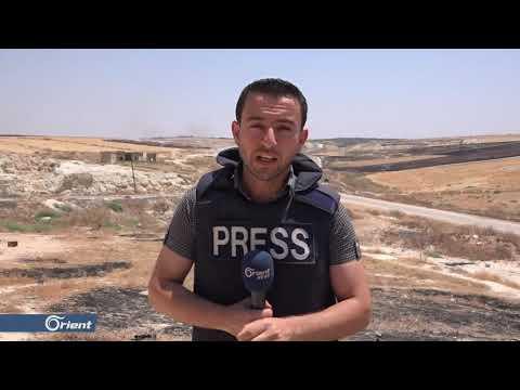 طيران الاحتلال الروسي يستهدف مركز الدفاع المدني ومنظمومة إسعاف في خان شيخون بإدلب
