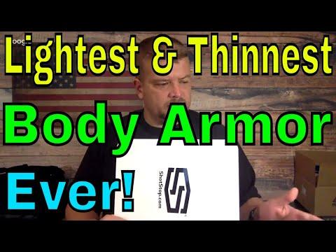 World's Lightest and Thinnest Body Armor!