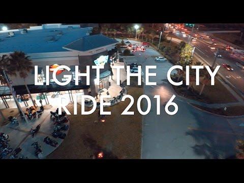 12th annual - LIGHT THE CITY RIDE - Adamec Harley-Davidson