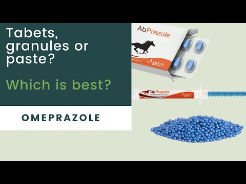 Omeprazole -Which product suits your horse?