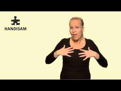 Om FN konventionen på teckenspråk