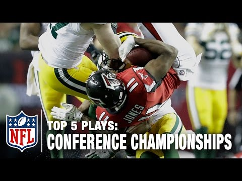 Top 5 Plays of AFC & NFC Championship Games | NFL Total Access