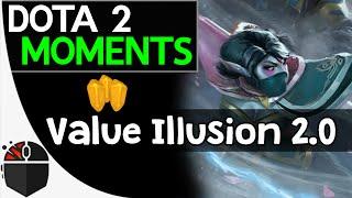 Dota 2 Moments - Value Illusion 2.0