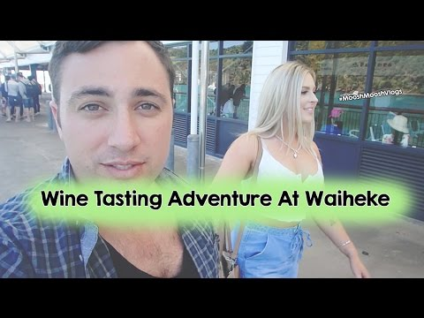 Wine Tasting Adventure At Waiheke | MooshMooshVlogs
