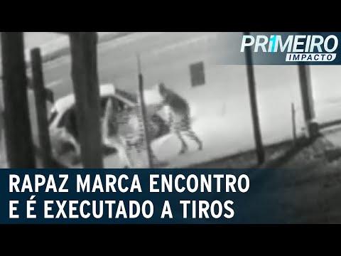 Homem é executado após marcar encontro pela internet | Primeiro Impacto (22/07/21)