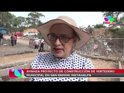 Avanza proyecto de construcción de vertedero municipal en San Ramón, Matagalpa