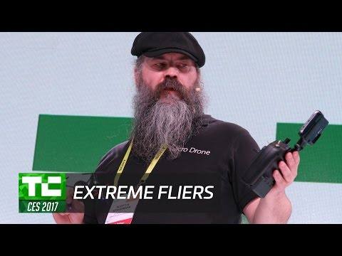 Extreme fliers want to get super tiny