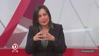 #Telediario | Entrevista a María Eulalia Silva, Vocera de la Cámara de Minería