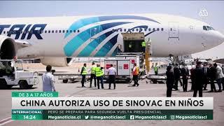 China autoriza uso de Sinovac en niños, Perú se prepara para segunda vuelta, G7 logra acuerdo