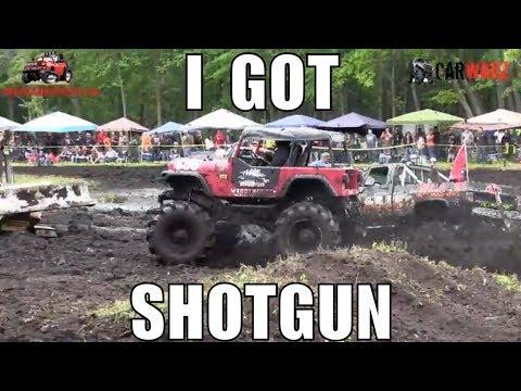 I GOT SHOTGUN Mega Jeep At Perkins Spring Mud Bog