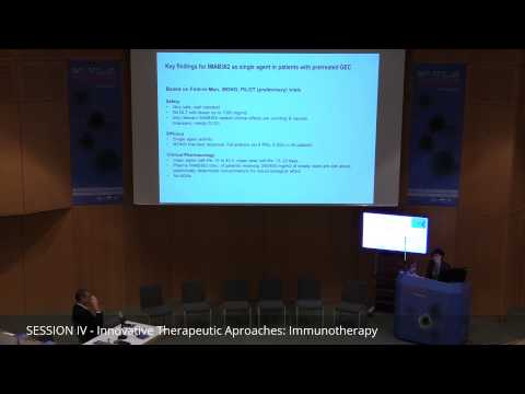 Özlem Türeci: Biomarker-supported development of an immune-eector-mobilizing...