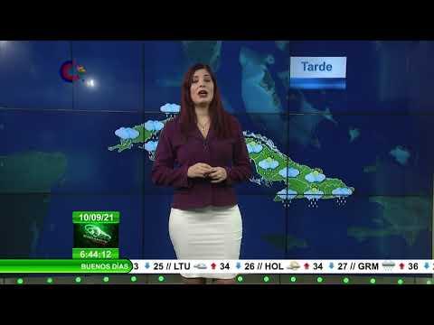 Pronóstico del Tiempo en Cuba: 10 de septiembre de 2021