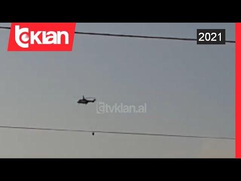 Zjarri ne Karaburun rrezikon Dukatin, nisen helikopteret me uje