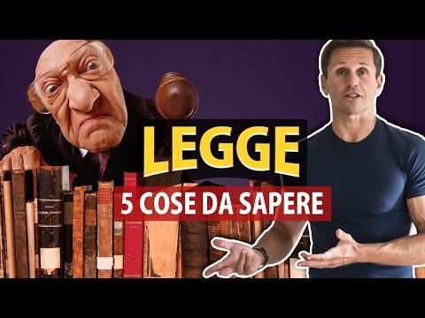 5 COSE DA SAPERE sulla LEGGE   Avv. Angelo Greco