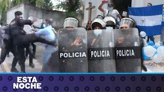 Así se vive el estado de sitio policial en Managua