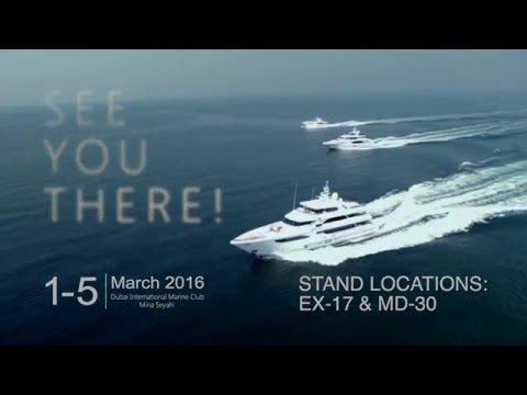 Dubai International Boat Show Video Invite