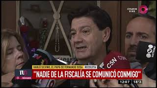 La fiscal y la visita a los papás de Fernando
