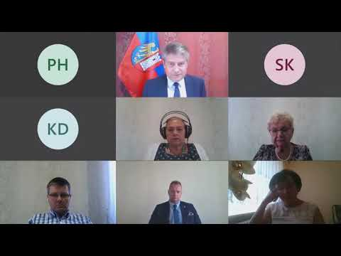 Sesja Rady Miasta Gliwice nr XVII/2020 z 30 lipca 2020 roku