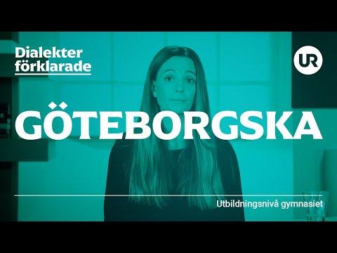 Göteborgska förklarad | SVENSKA | Gymnasienivå