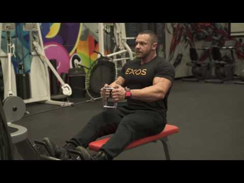 How to Perform a Seated Cable Low Row