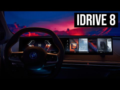 BMW iDrive 8 - The Most Advanced BMW Operating System