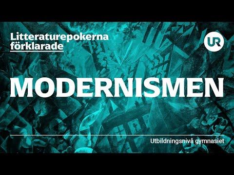 Litteraturepoken modernismen förklarad   SVENSKA   Gymnasienivå