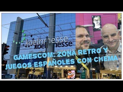 Gamescom: Zona Retro y juegos españoles con Chema