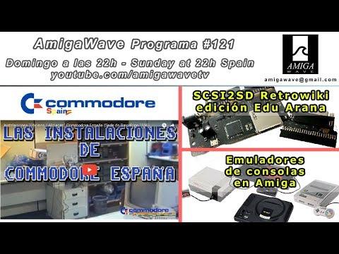 Programa #121 - Oficinas Commodore España, SCSI2SD Retrowiki , emuladores de consolas en Amiga