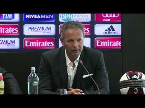 Mihajlović unveiled as new AC Milan boss | AC Mil…