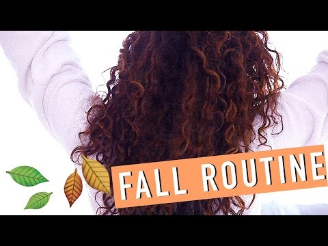 My FALL Curly Hair Routine 2015!