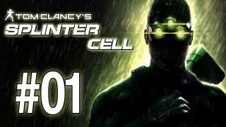 Let's Play Splinter Cell Walkthrough - Part 1: Training (Gameplay/Playthrough) [HD]