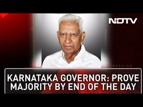 """Prove Majority By """"End Of Day,"""" Governor Tells HD Kumaraswamy"""