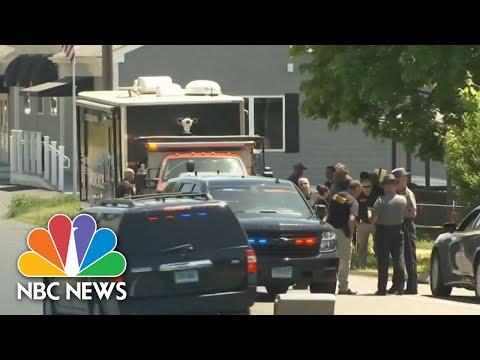 Manhunt Underway Across Three States For Murder Suspect   NBC Nightly News