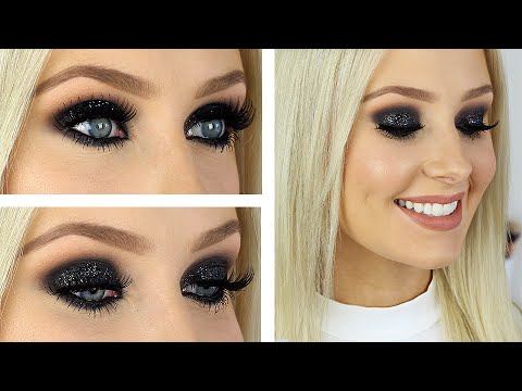 Glitter Glam Smokey Eye Tutorial!