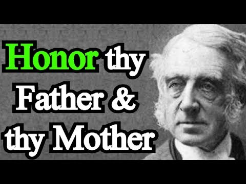 Honor Thy Father and Thy Mother - Theodore Cuyler