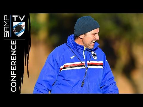 Sampdoria-Cagliari: la conferenza stampa di Giampaolo