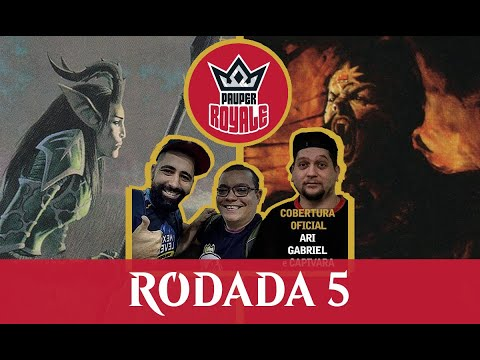 Mono-Green Stompy VS Mono-Red Burn - Pauper Royale - Rodada 5