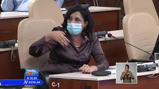 Presidente de Cuba sostuvo encuentro con científicos y expertos que luchan contra la Covid-19